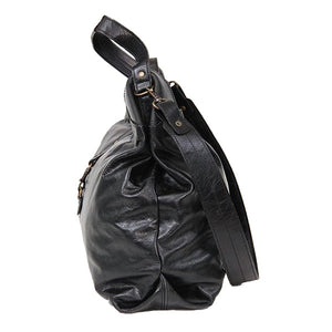 Tote sling leather hand bag - kingkong-leather
