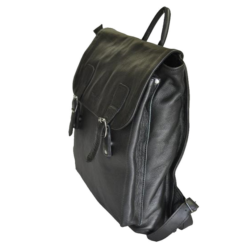 15.6 inch satchel imac laptop shoulder leather backpack bag