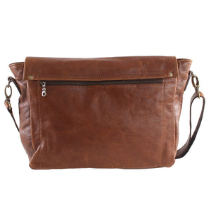 Elegant 13 Inch Messenger - kingkong-leather