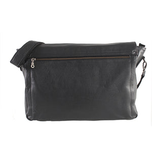 Elegant 15 Inch Messenger - kingkong-leather