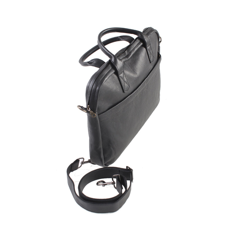 Slim Office 15 Inch Crossbody Bag - kingkong-leather