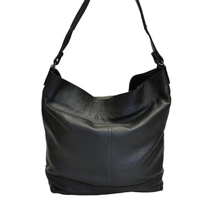 Laptop Shopper with 2 Compartments - kingkong-leather