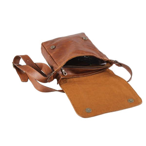 10 Inch Messenger Sling Bag - kingkong-leather