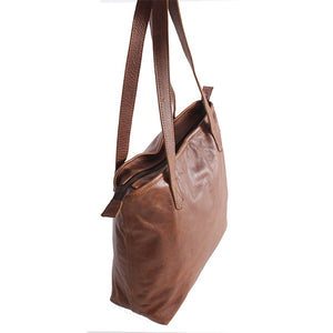 Everyday Soft Shopper Tote Ladies Hand Bag - kingkong-leather