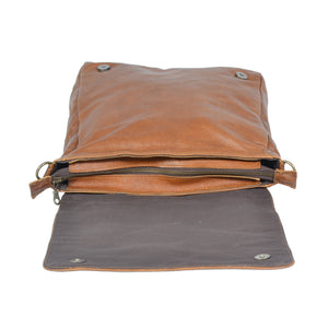13 Inch Soft Laptop Messenger - kingkong-leather