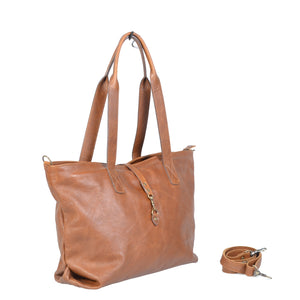 Ladies Tote Sling Leather Handbag - kingkong-leather