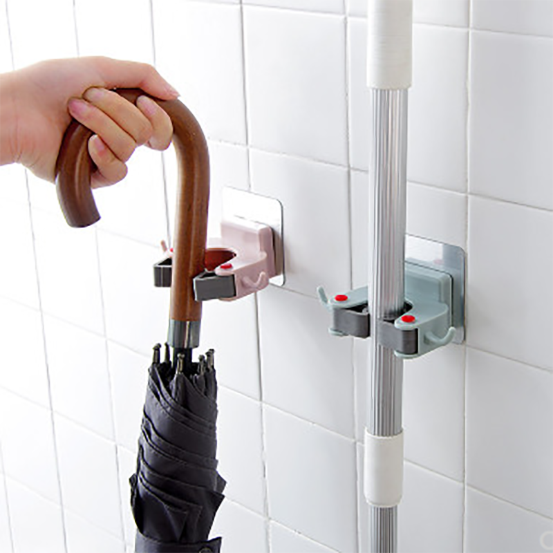 (50% OFF TODAY!) Bathroom Wall Mounted Mop Clip
