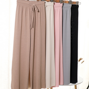 (Hot Sales)Women Ice Silk Wide Leg Pants