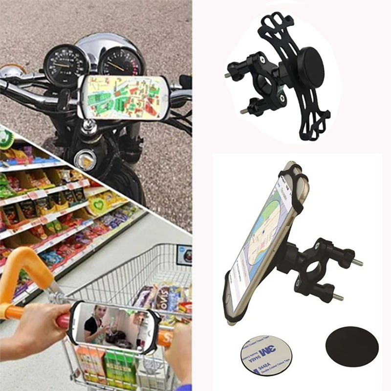 Universal Bike Handlebar Phone Holder