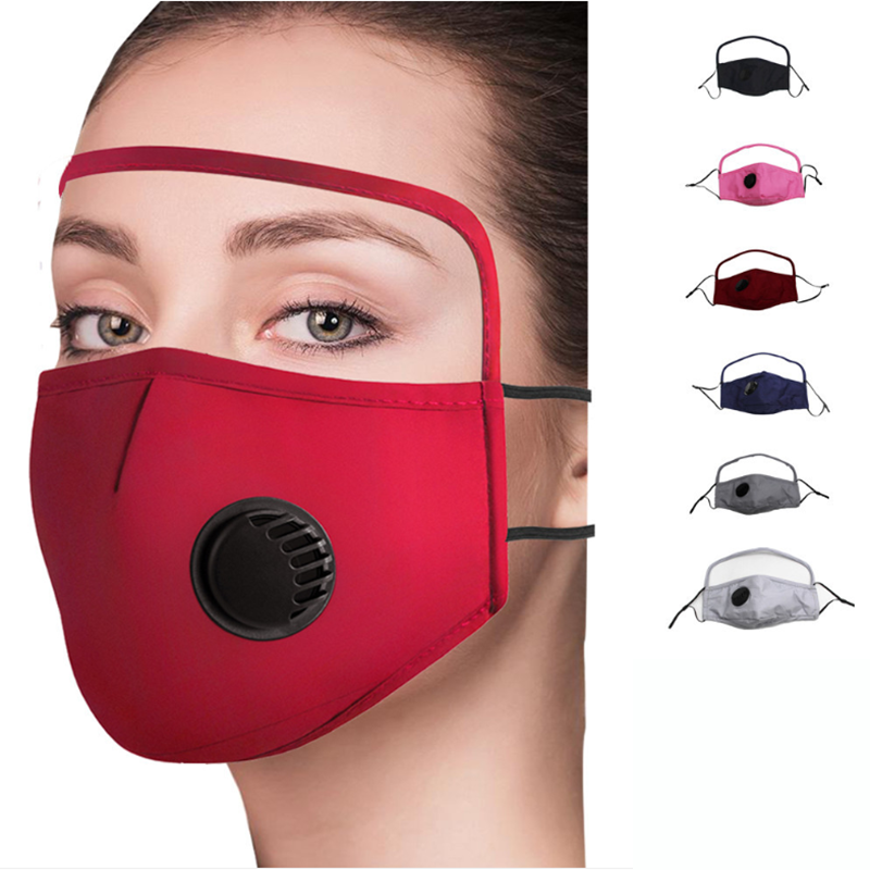 2020 NEW Cotton Mask with Eyes Shield