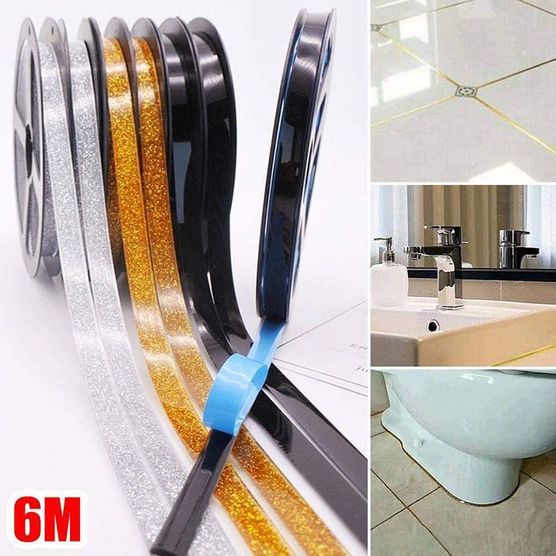 Self-Adhesive Ceramics Tile Mildewproof Edges Tape (1PC)