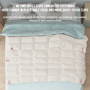Duvet Cover Clips (Today only $5.99 !)