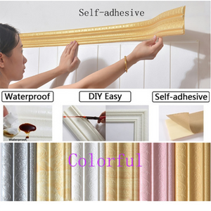Self-Adhesive 3D Foam Wall Stickers