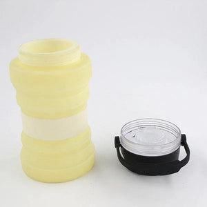Solar Charging Collapsible Kettle Luminous Cup