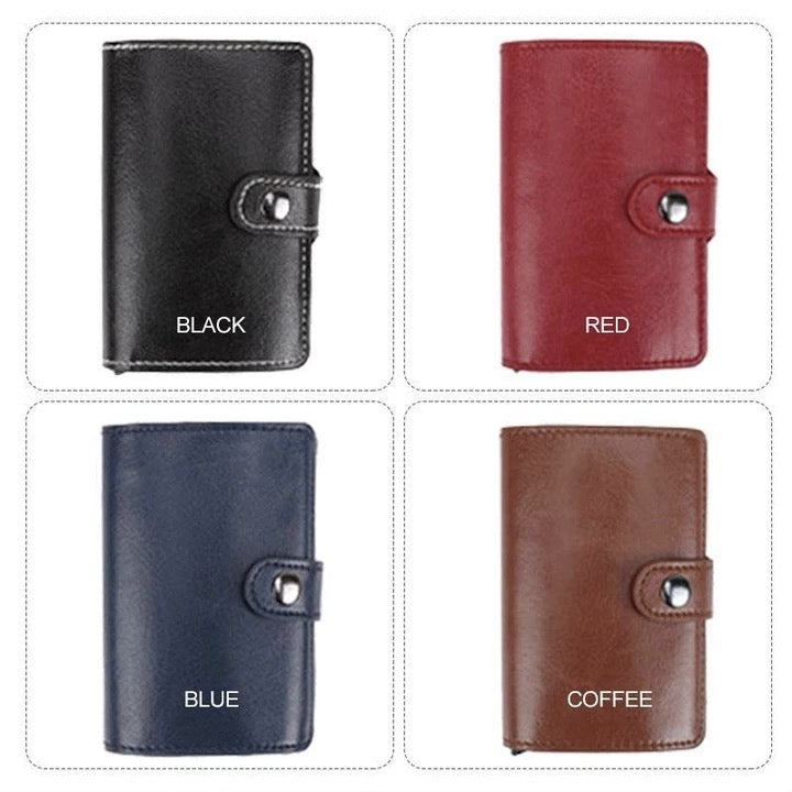 (50% OFF!!)RFID Blocking Vintage Business Wallet