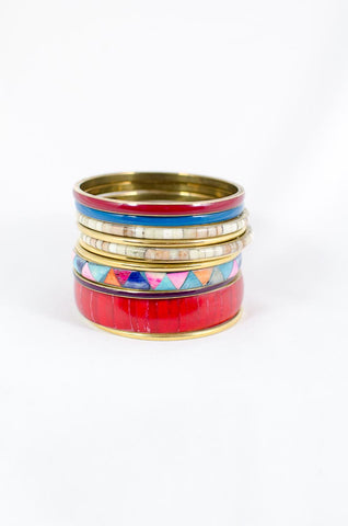 Red Mix Bangles