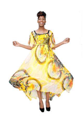 Sunlight Soiree Dress