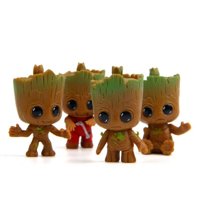 Guardians Of The Galaxy Baby Groot (4-pieces) - Urbantoys6