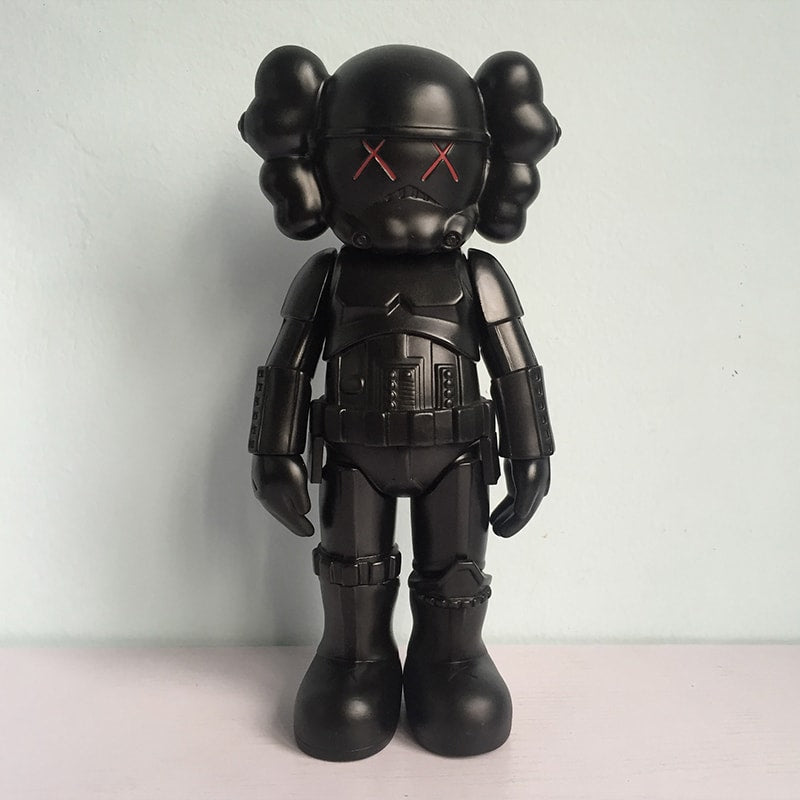 Kaws Star War Stormtrooper Action Figure - Urbantoys6