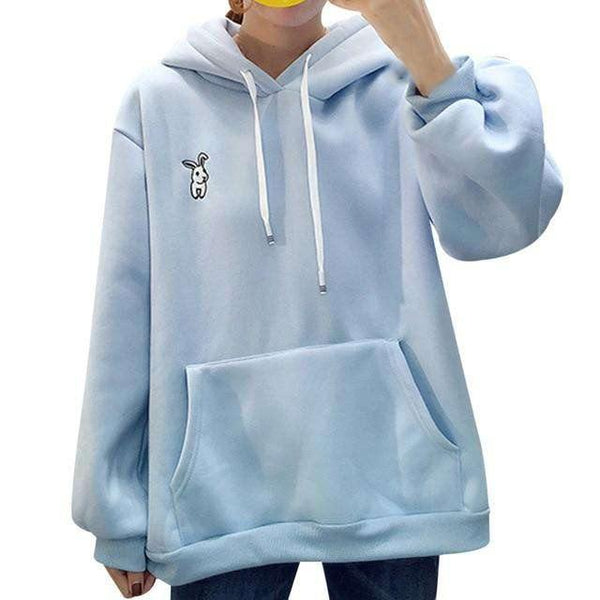 Bunny Ear Hoodie - luckypeach.co