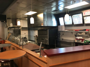 10790 Pizza place for sale recently closed in Willimantic, CT.