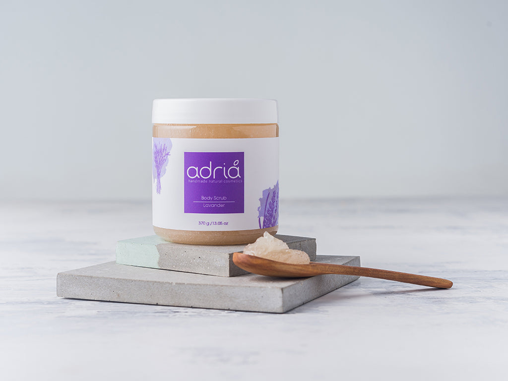 Crafted BodyScrub - Lavender
