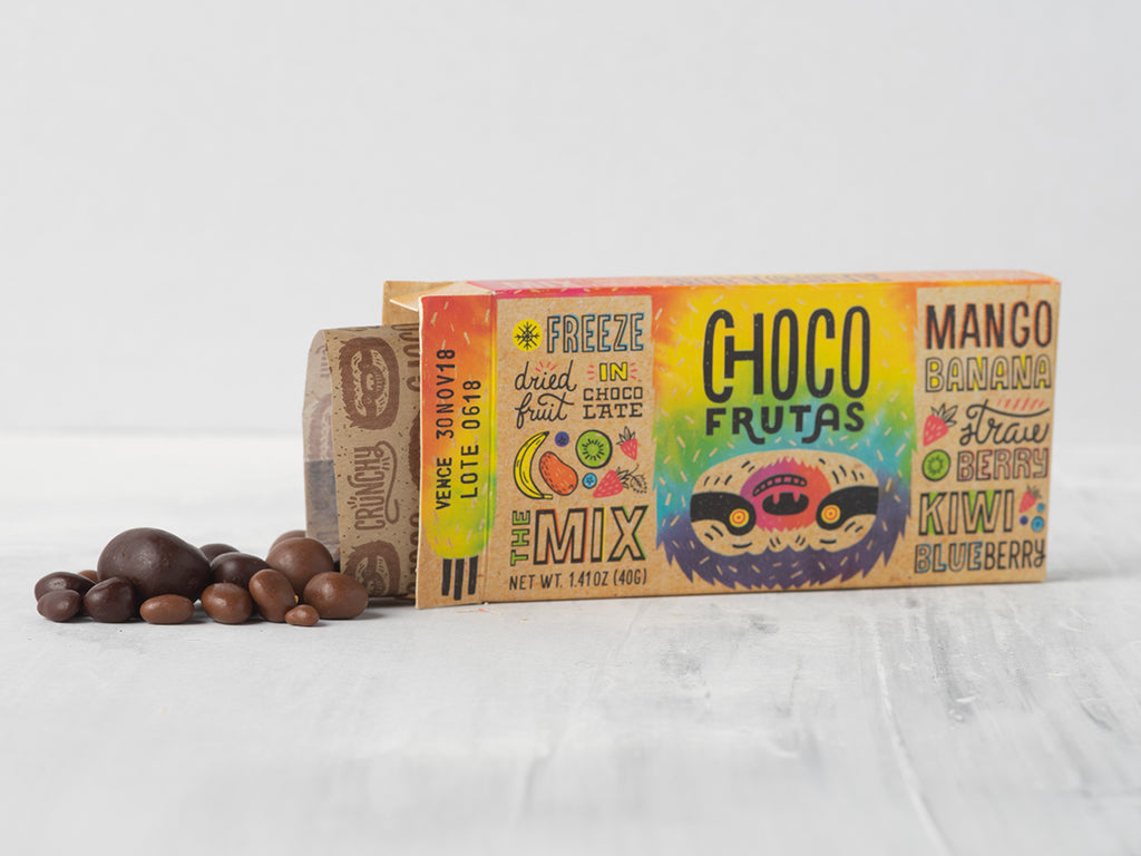 Mixed Tropical Flavors Chocofrutas