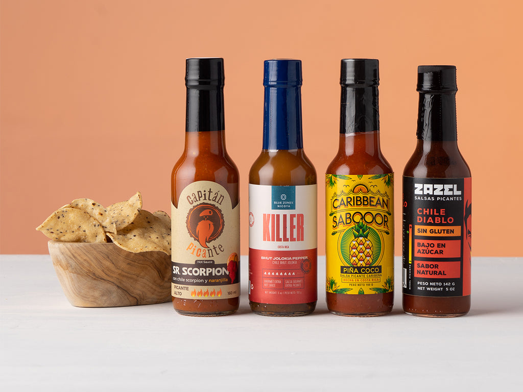 Buy Hottest Hot Sauce Bundle from Local Keeps available at Local Keeps from Costa Rica