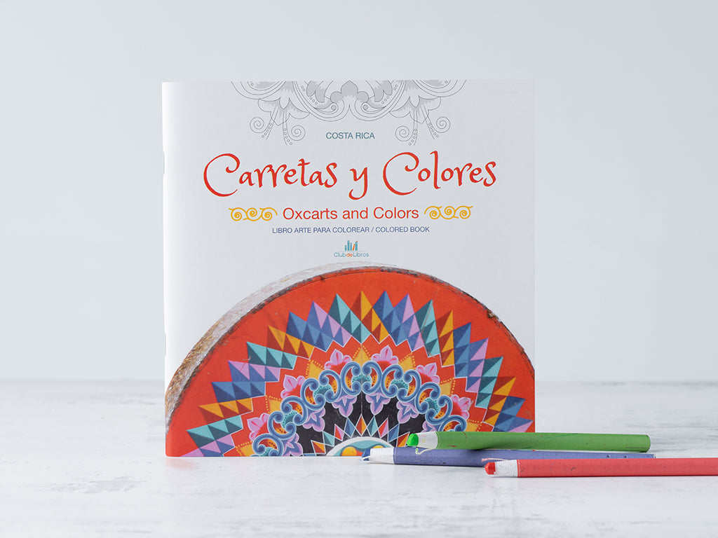 Buy Oxcarts and Colors Coloring Books from La Bocina available at Local Keeps from Costa Rica