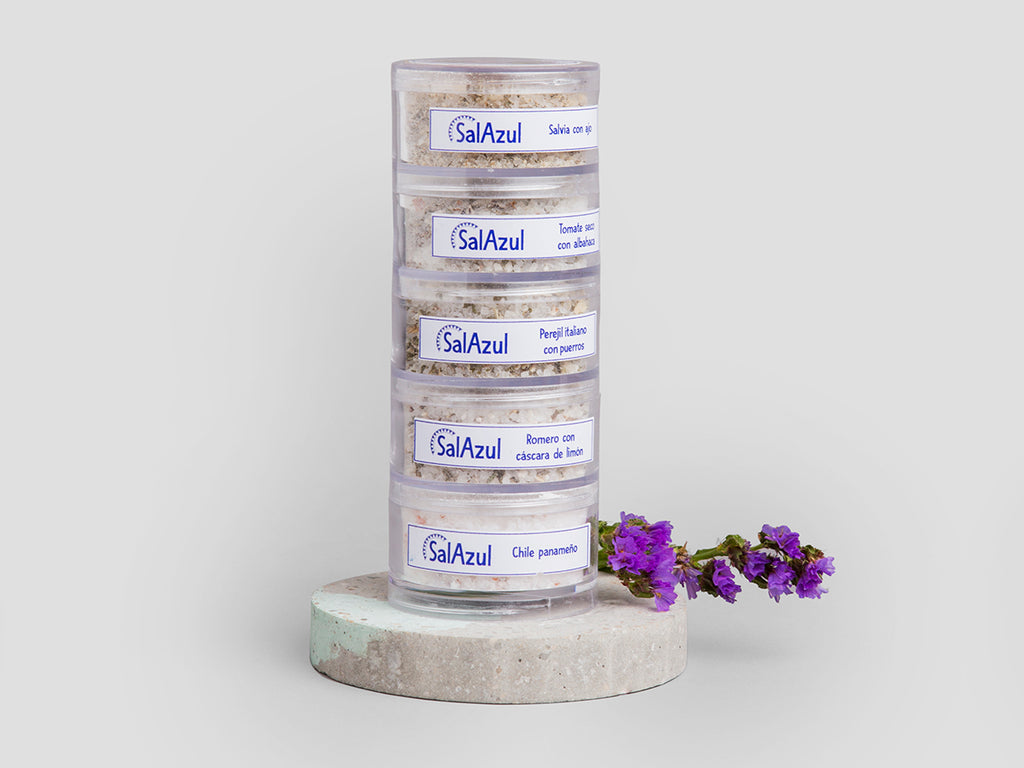 Blue Salt Kit- 5 flavors