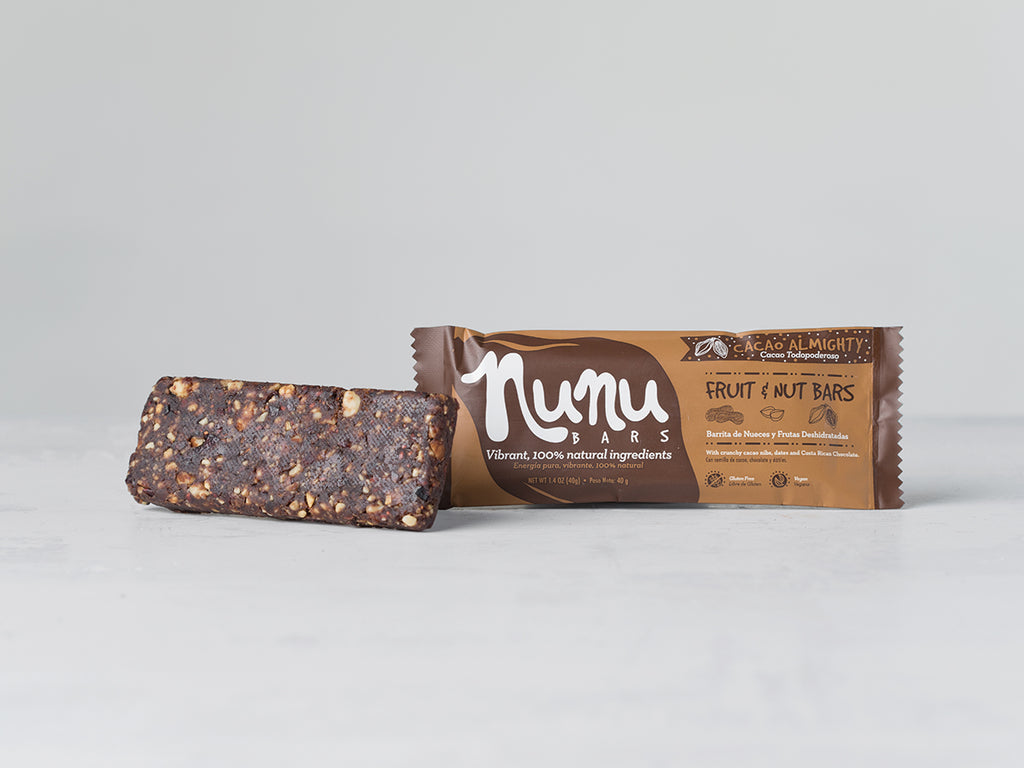 Buy Cacao Almighty Energy Bar from Nunu Foods available at Local Keeps from Costa Rica