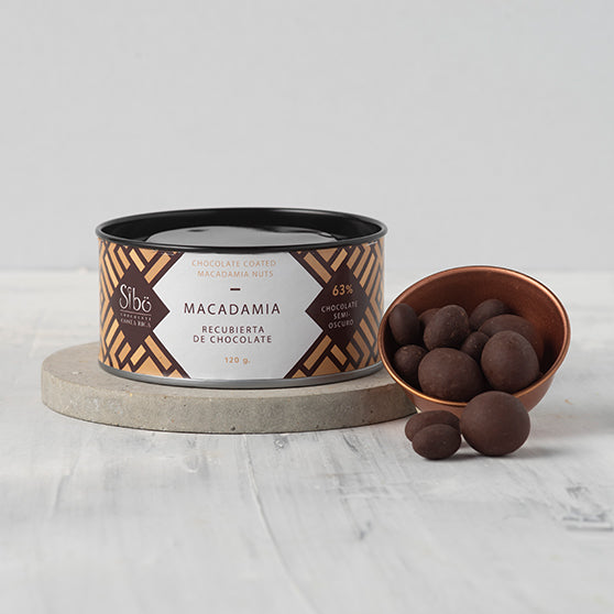 Organic Chocolate Covered Macadamia