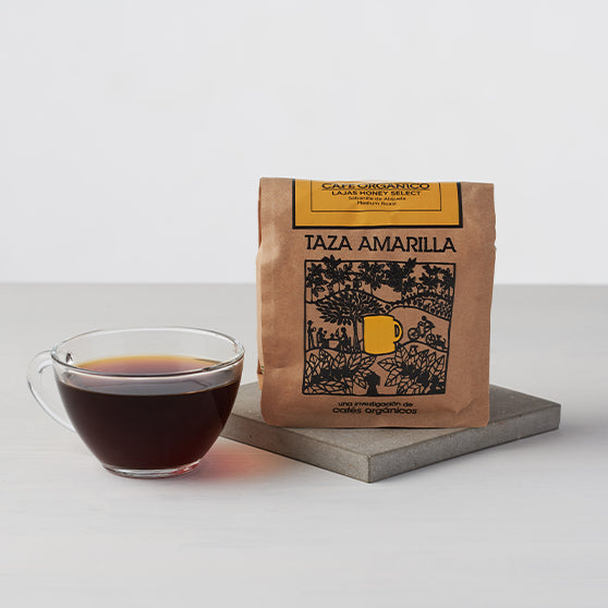 Taza Amarilla Organic Coffee - Lajas Honey Select