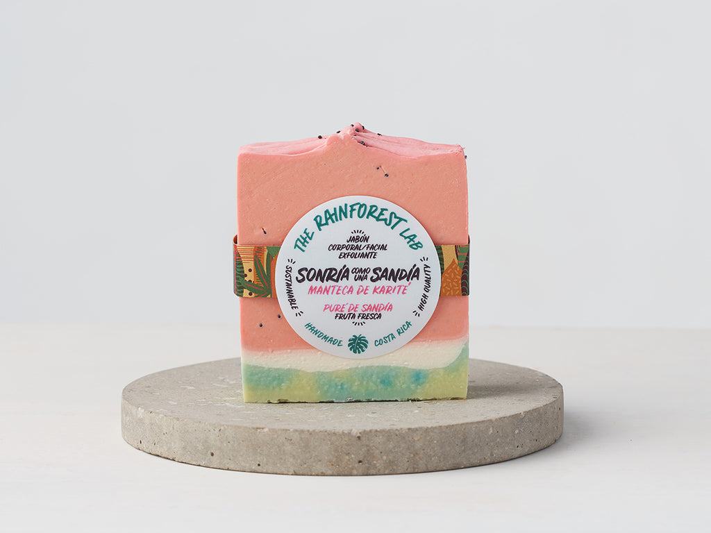 Sonria como una Sandia Natural Soap