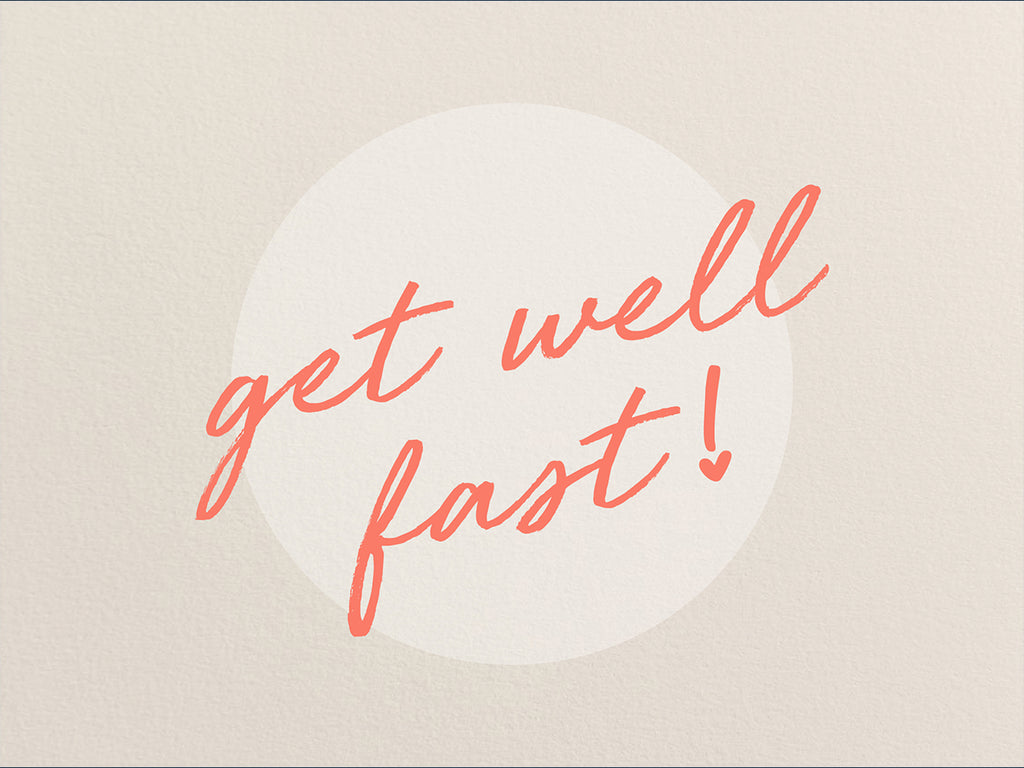 Get Well Fast Gift Card