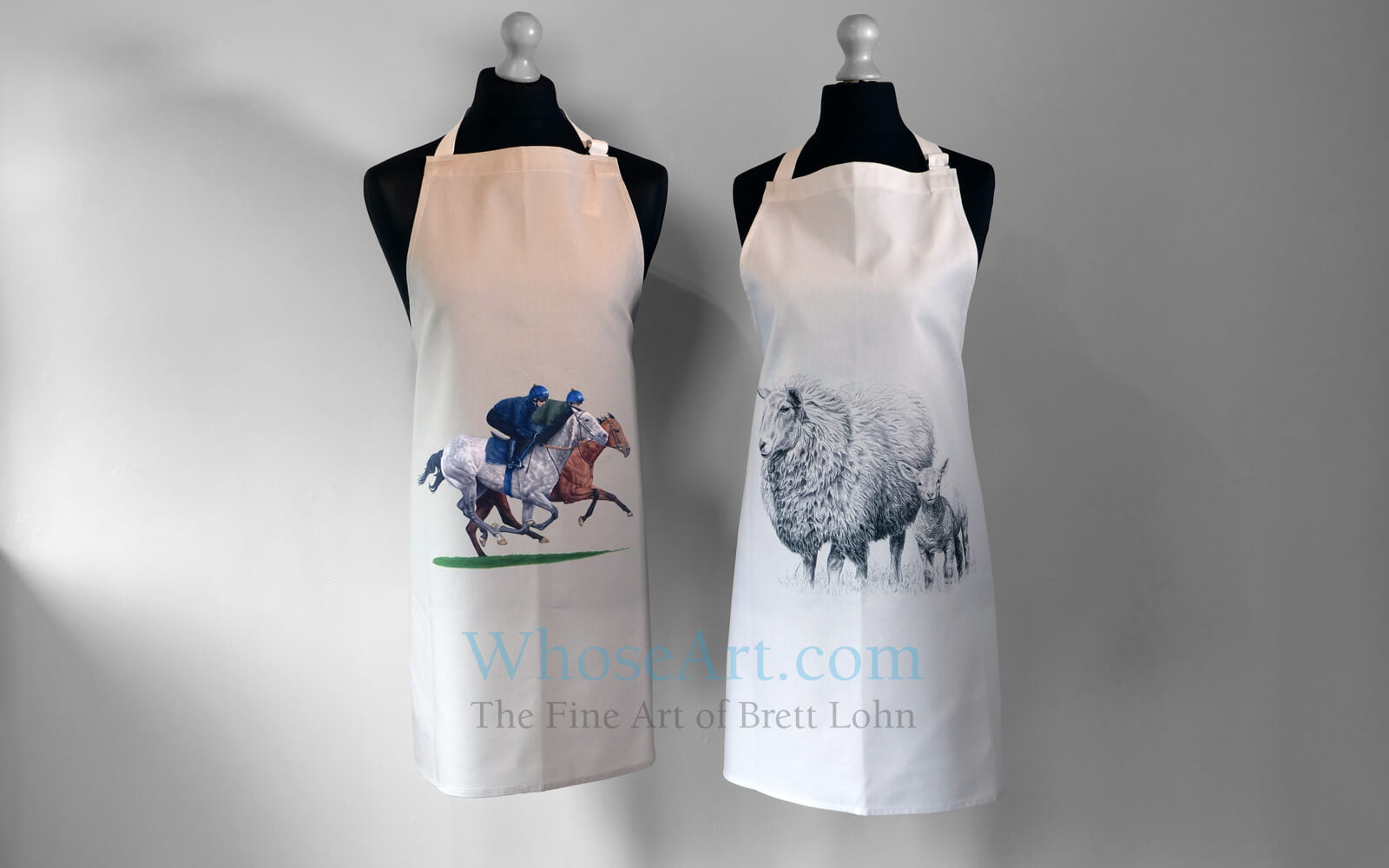 Whose Art apron collection
