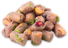 Image of Norsh Freeze-dried Raw Chicken with Fruit and Veg Treats
