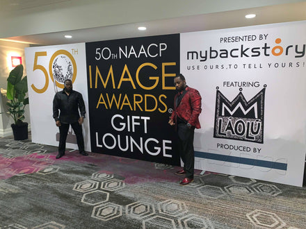 MyBackstory Goes to The 50th NAACP Image Awards