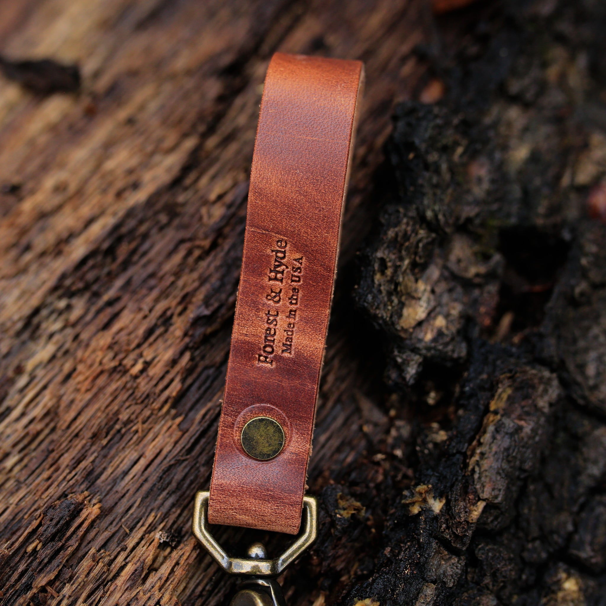 Saddle Long Keychain
