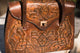 Vintage Carvings Handbag