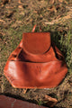 Comme Ca Du Mode Leather Knapsack