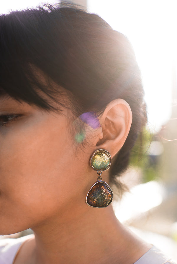 Vintage Kenzo Clip-On Earrings