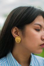 Vintage Orena Gold Plated Clip-On Earrings