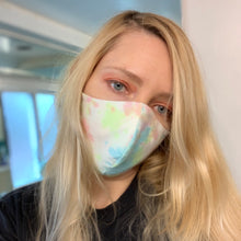 Handmade chambray face mask