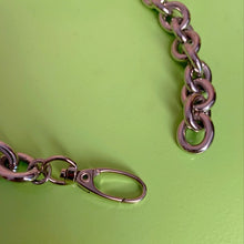 Chunky chain collar necklace