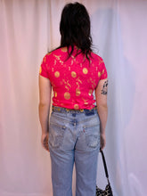 Remade chain belt jeans