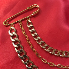 Double chain pin