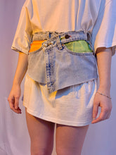 Wrap sheer pearl belt