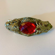 Filigree sparkle 80's hair clip