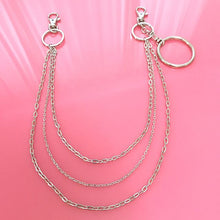 Triple O-ring clip chain